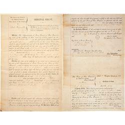 1849 San Francisco Property Grant
