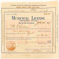 Steamship Agent License