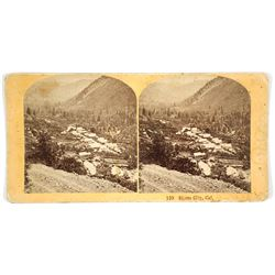 Stereoview of Sierra City