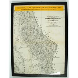 "Map, ""California Gold & Quicksilver Mining Survey, 1848"""