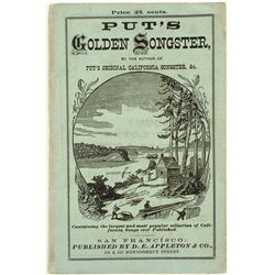 Gold Rush Songs Book