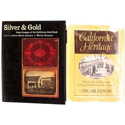 Two Books of California Gold Rush Images