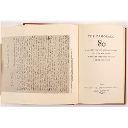 The Zamorano Eighty by Kraus