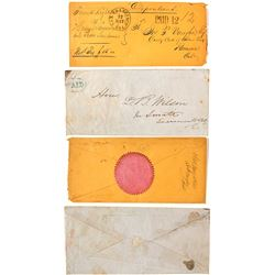 Two Interesting California Postal History Envelopes