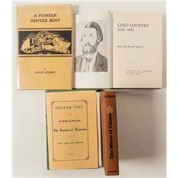 Colorado Gold Rush Books (3)