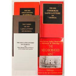 Georgia Land Lottery Books (4)