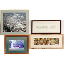 4 Different Dahlonega Framed Prints