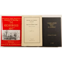 Lumpkin County Georgia History Books (3)