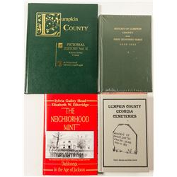 Lumpkin County, Georgia History Books (4)