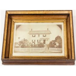 Mammouth Print of a 19th Century House