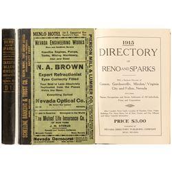 Reno City Directory, 1915