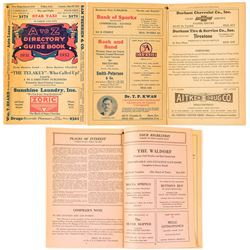 Washoe County Directory, 1932