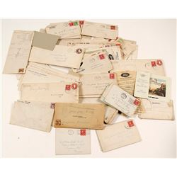Large Correspondence Collection of Jack Greenbaugh