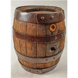 Wooden keg from the G. Bauer Co., North Carolina