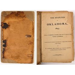 Statutes of Oklahoma 1893