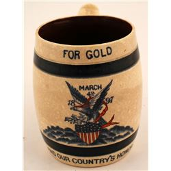 William McKinley Inauguration Mug