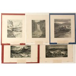 Northwestern  Prints (5)