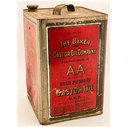 The Baker Castor Oil Co. 40# Tin