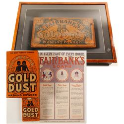 Fairbank's Gold Dust Washing Powder Group