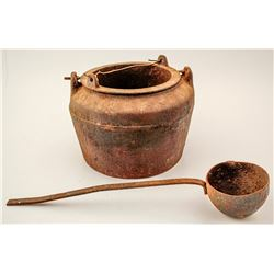 Foundry Pot and Ladle