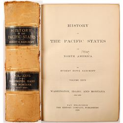 History of the Pacific States by Bancroft Vol. XXVI