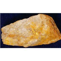 Georgia Gold in Quartz Specimen