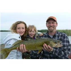 6 DAY MANITOBA FISHING TRIP FOR 4