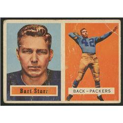 1957 Topps 119 Bart Starr Rc