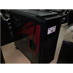 CORSAIR COMPUTER CASE WITH AMD FX CPU, ASUS CROSSHAIR V FORMULA MOTHERBOARD, CORSAIR AX1200I PSU