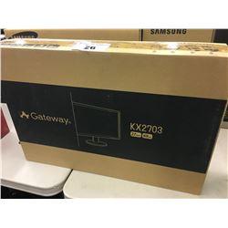 GATEWAY 27'' LCD MONITOR