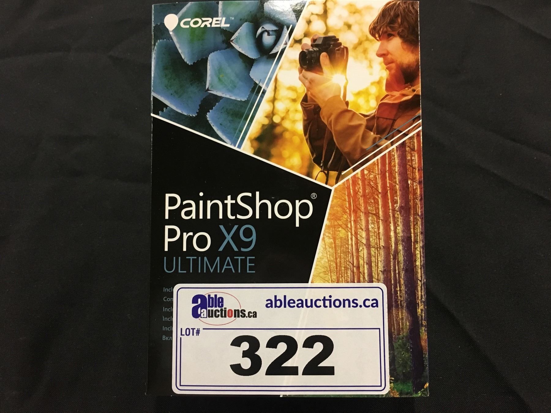 5x Corel Paintshop Pro X9 Ultimate Photo Editing And Graphic Design Software