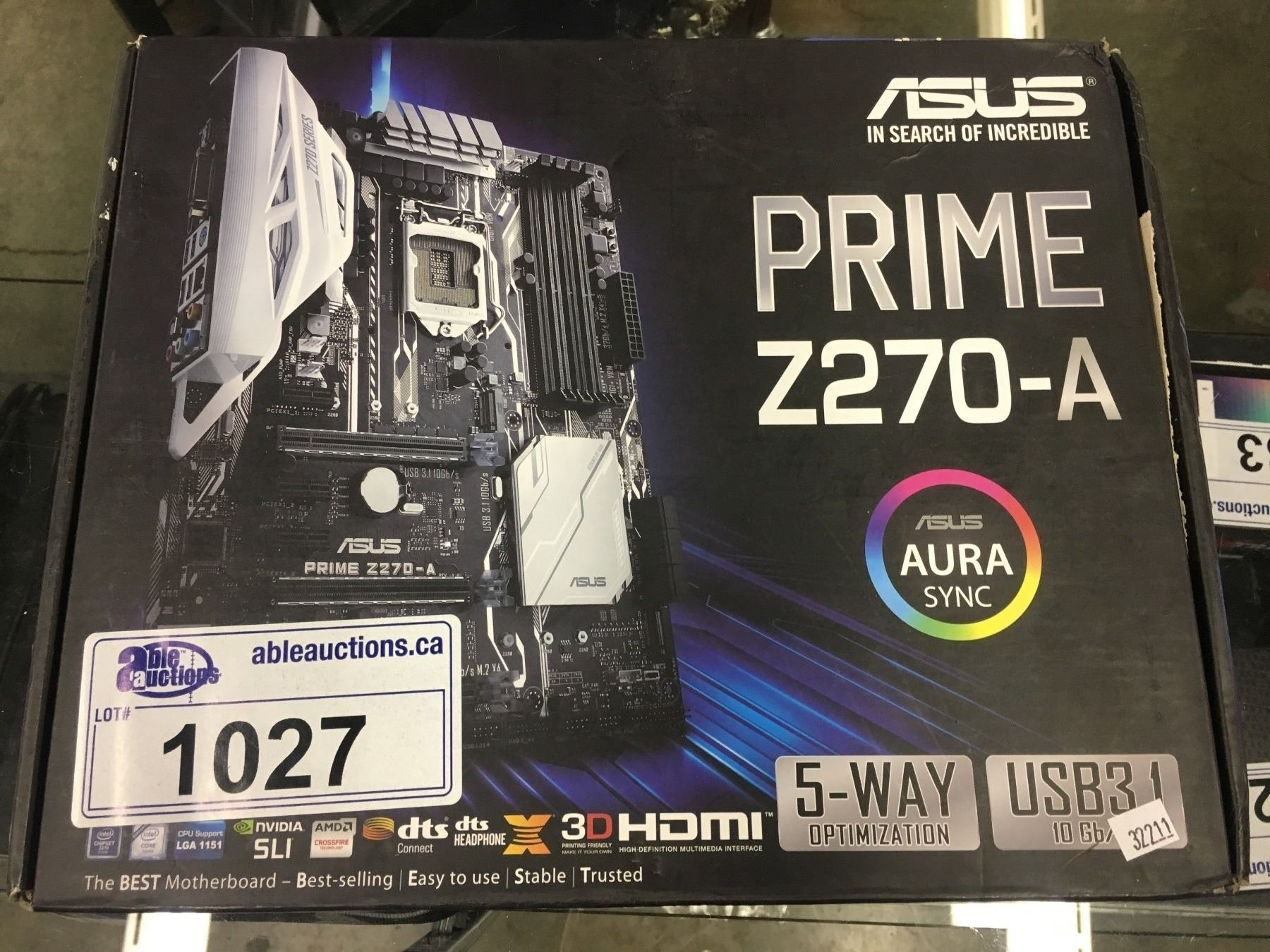 ASUS Z270-A MOTHERBOARD