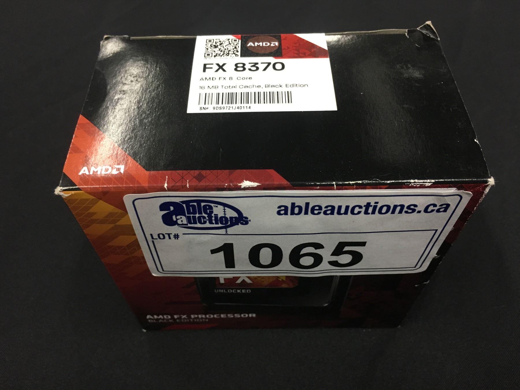 AMD FX 8370 8-CORE PROCESSOR