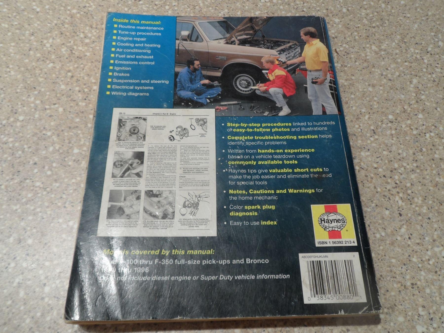 image 8 : 4 pick up truck repair manuals (88-98 gm, 74