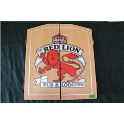 Red Lion Dartboard W/ Darts