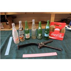 Bottle Capper And Vintage Bottles (6)
