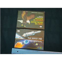 Red Rose & Blue Ribbon Tea & Coffee Picture Cards: The Space Age & North American Wildlife in Danger