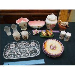 Lot of Assorted Vintage Glassware