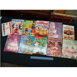 Lot of Cake Decorating Magazines