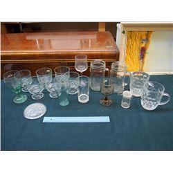 Lot of Assorted Glasses & Mugs