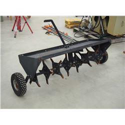 Lawn Aerator On Wheels, 4'