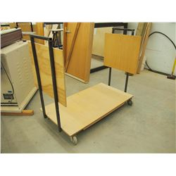 "Custom Made Standard 48"" Material Cart"