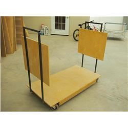 """Custom Made Lite 48"""" Material Cart"""
