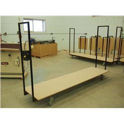 Custom Made Heavy Duty 8' Material Cart