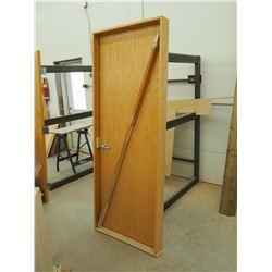 """Framed Wood 30"""" Door"""