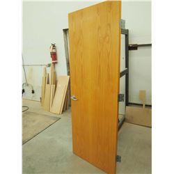 """Wood 30"""" Door"""