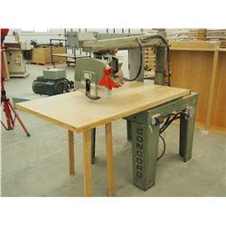 Concord Radial Arm Saw, 3 Phase Motor, 575 V