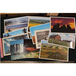 Laminated Pictures of Various Landscapes Table Place Mats (12)