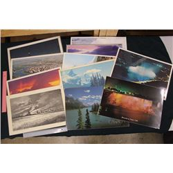 Laminated Pictures of Various Landscapes Table Place Mats (11)