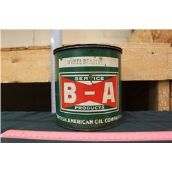 BA Service Products Tin